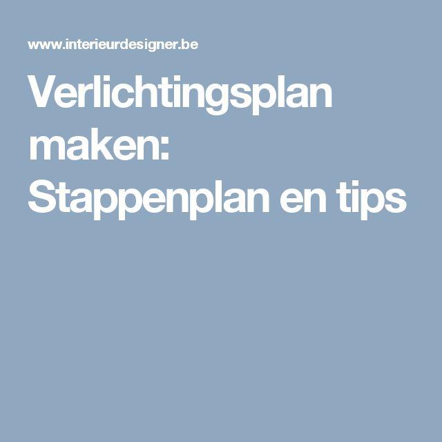 Verlichtingsplan maken: Stappenplan en tips