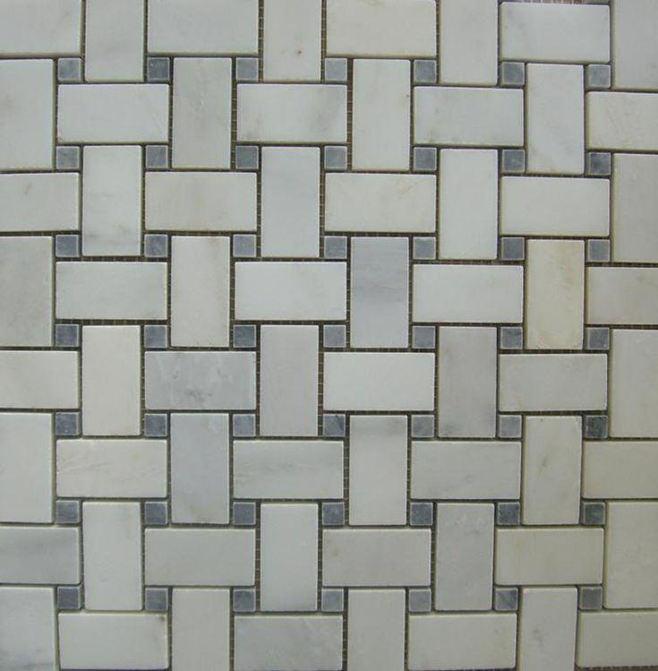 Basketweave Tile For Bathroom Floor Bathroom Remodel Pinterest