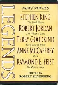 'The hedge knight'  Tales of Dunk and Egg. From 'Legends' George R. R. Martin These shorter stories follow Sir Duncan the Tall and Aegon Targaryen pre: 'Game of thrones