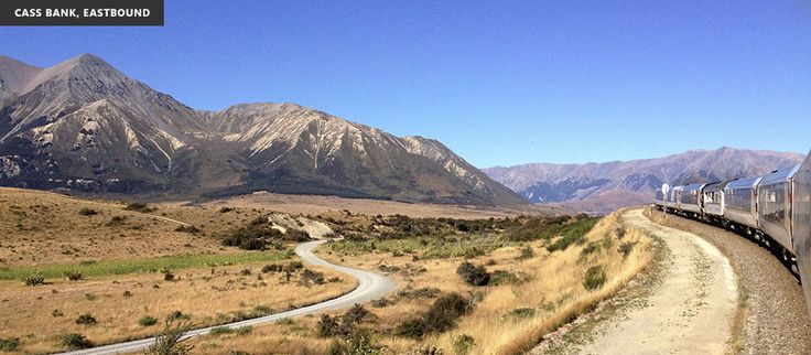 Cass Bank on the TranzAlpine train route.