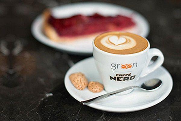 PIERWSZY LOKAL GREEN CAFFÈ NERO W KRAKOWIE