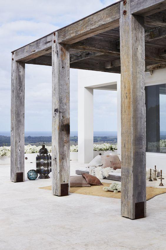 Σπίτι και κήπος διακόσμηση: 15 Ιδέες διακόσμησης βεράντας σε Boho Maroccan στυλ