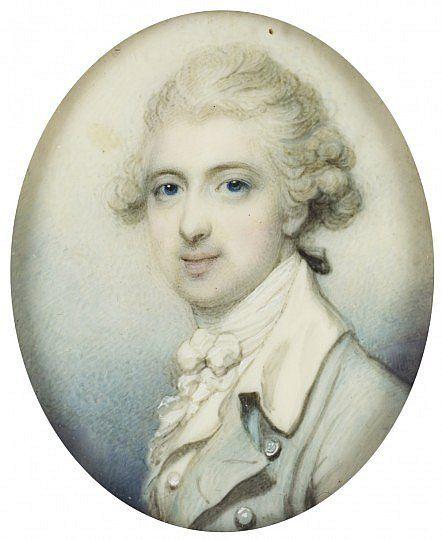 Richard Cosway, John Campbell 1st Baron Cawdor c1780