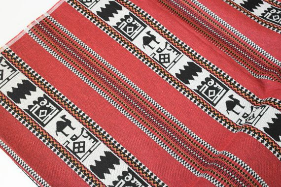10  Meters/Yards, Wholesale Fabrics, Traditional Tribal Style Upholstery Fabric, Tapestry Fabric, Geometric Kilim Fabric