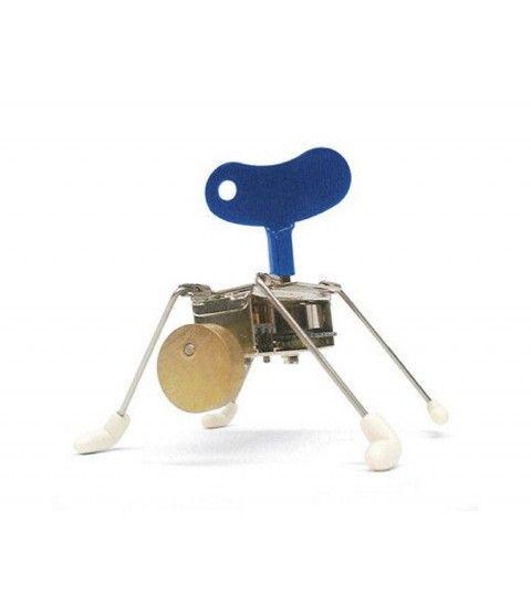 SPINNEY WIND UP von Kikkerland Aufziehfigur Spielzeug Roboter Spiel & Spaß Spinner  - 2-flowerpower