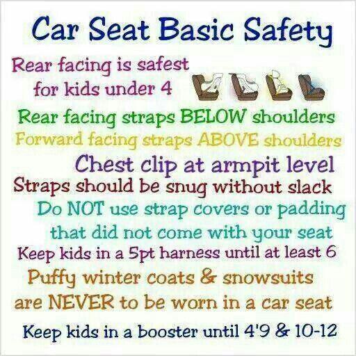 car seat basic safety