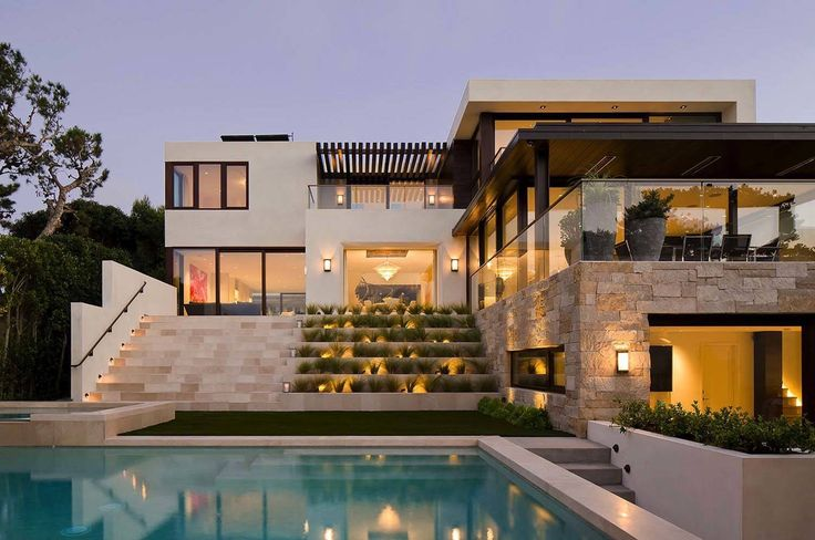 This stunning contemporary beach house was designed by Subu Design Architecture…
