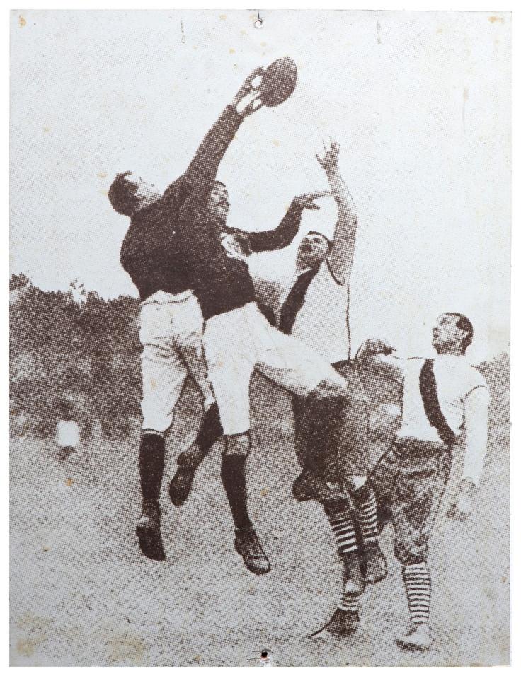 Celebrating the Carlton Football Club's 16 Premierships. 1907 Grand Final: Carlton 6.14.50 def South Melbourne 6.9.45.