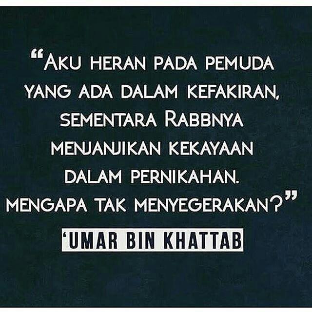 Sama mimin juga ikutan heran kenapa pada takut ya? . Padahal dalam pernikahan Allah janjikan kekayaan . Follow @IndonesiaBertauhid Follow @IndonesiaBertauhid Follow @IndonesiaBertauhid . #IndonesiaBertauhid #IslamRahmatanLilAlamin http://ift.tt/2f12zSN