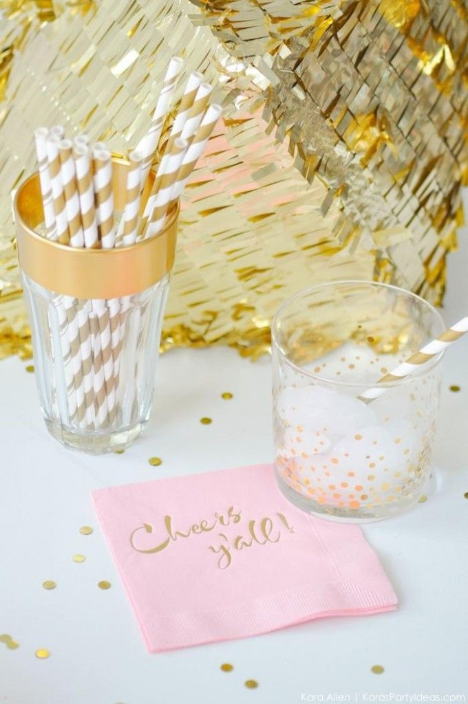 chic-pink-and-gold-golden-globes-party-by-karas-party-ideas-kara-allen-for-tiny-prints-pretty pink tulips