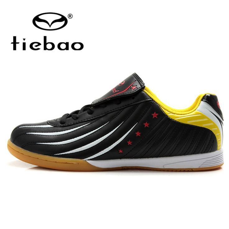 (28.40$)  Watch now  - TIEBAO Professional Men Women Athletic Training Shoes Indoor Soccer Shoes IN & IC Sole Football Boots Sneakers chuteira futsal