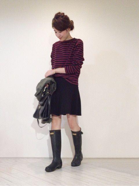 プチプラ雨の日コーデ の画像|yokoオフィシャルブログ「プチプラコーデ術」Powered by Ameba