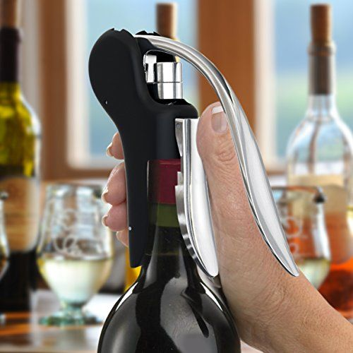 Vinomaster Wine Bottle Lever Screwpull Opener Gift Set – Best Rabbit-Style Corkscrew Bar Accessory  Vinomaster Wine Bottle Lever Screwpull Opener Gift Set - Best Rabbit-Style Corkscrew Bar Accessory   The Best Wine Opener      The Vinomaster is one of the best when it comes to wine openers. The reason why we're comfortable saying this is because a lot of time was spent on the design and performance of the product with the emphasis on correcting some of the flaws of other products you..