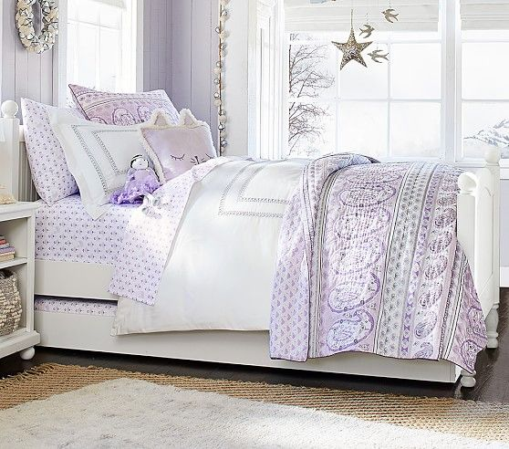Keira paisley quilted bedding pottery barn kids christmas gifts pinterest quilt bedding - Pottery barn holiday bedding ...