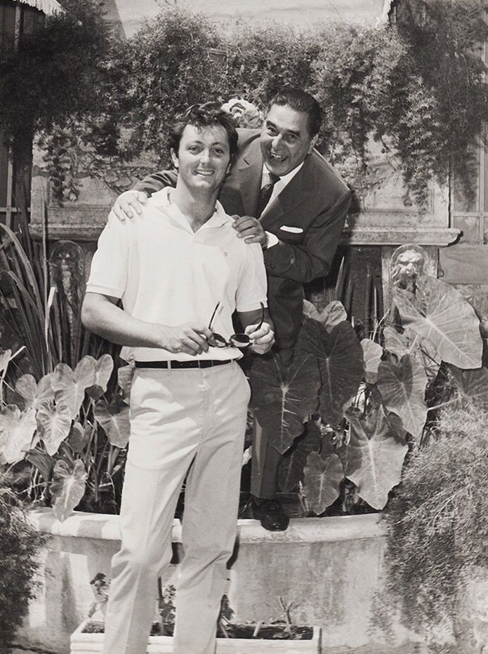 Christopher Mitchum and Guglielmo Battistoni
