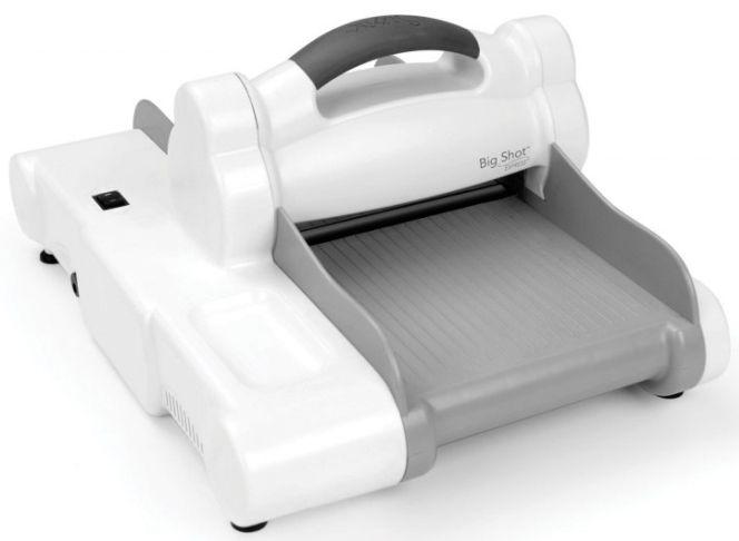 Sizzix Big Shot Express Machine A5 (white & gray) PRE-ORDER