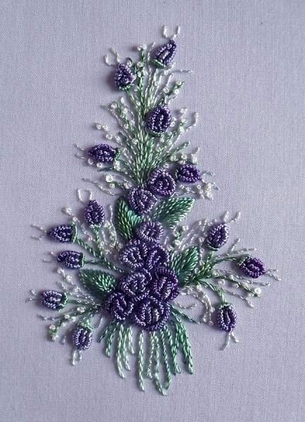 Вышивка швами рококо — HandMade
