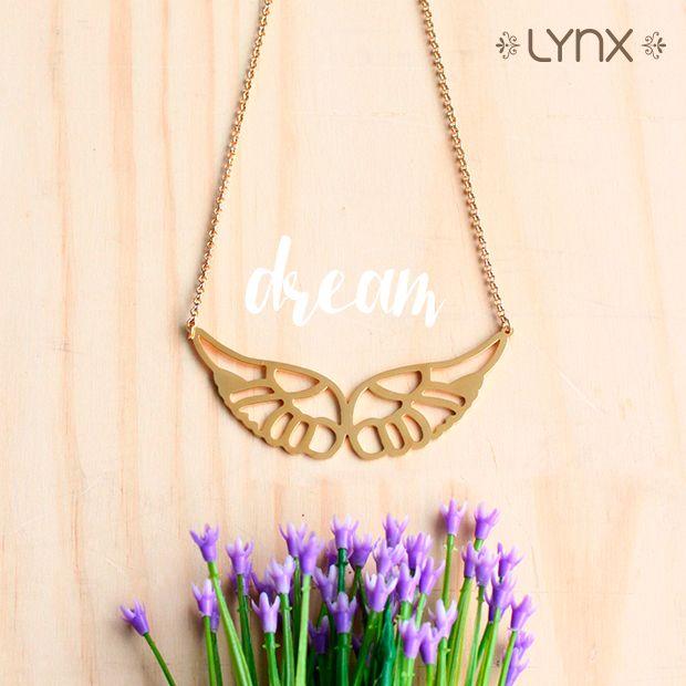 """¡Ponle alas a tus sueños!✨ Collar de nuestra nueva colección """"Spring 2016"""" encuéntralo en todas nuestras tiendas ·Cali, Bogotá y Barranquilla· #Spring #newcollection #springcollection #ILoveLynx"""