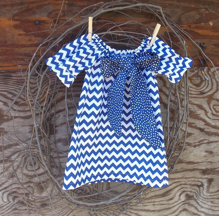 Girls Royal Blue Chevron Dress, Girls Peasant Dress, Girls Dress, Girls Fall Dress, Kids  Dress by SouthernSister2 on Etsy https://www.etsy.com/listing/161606951/girls-royal-blue-chevron-dress-girls