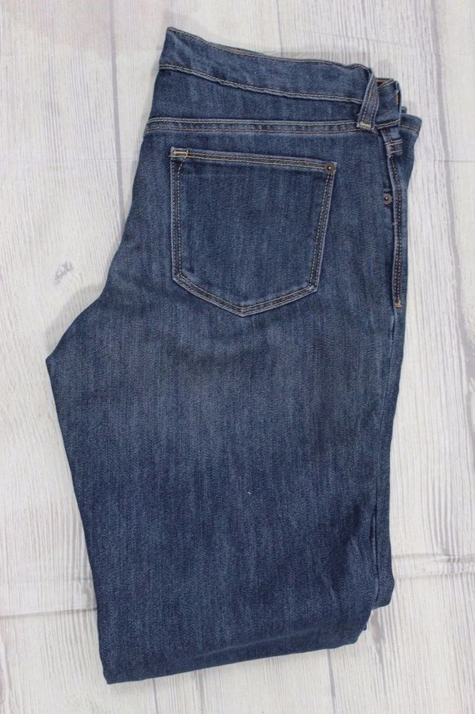 "Old Navy Women's Jeans The Flirt Boot Cut 8L Denim Dungarees 9"" Rise #OldNavy #BootCut"