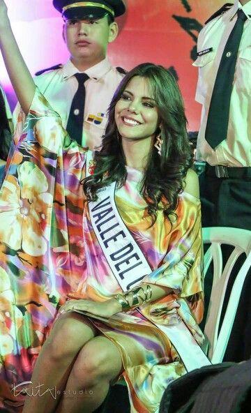 Señorita valle del cauca 2014.