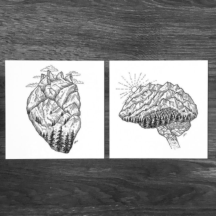 Wild Heart & Mind print set available in my shop currently shipping to US…