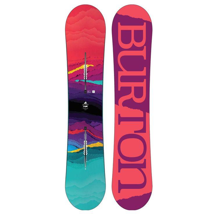 Burton Feelgood Flying V 2018 Snowboard - All Sizes