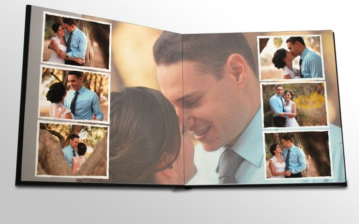 professional wedding albums1 Wedding Album Designs from BrideBox