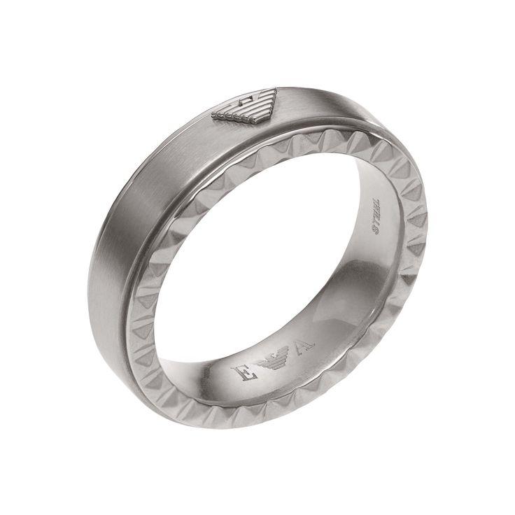 Armani Gents Iconic Ring