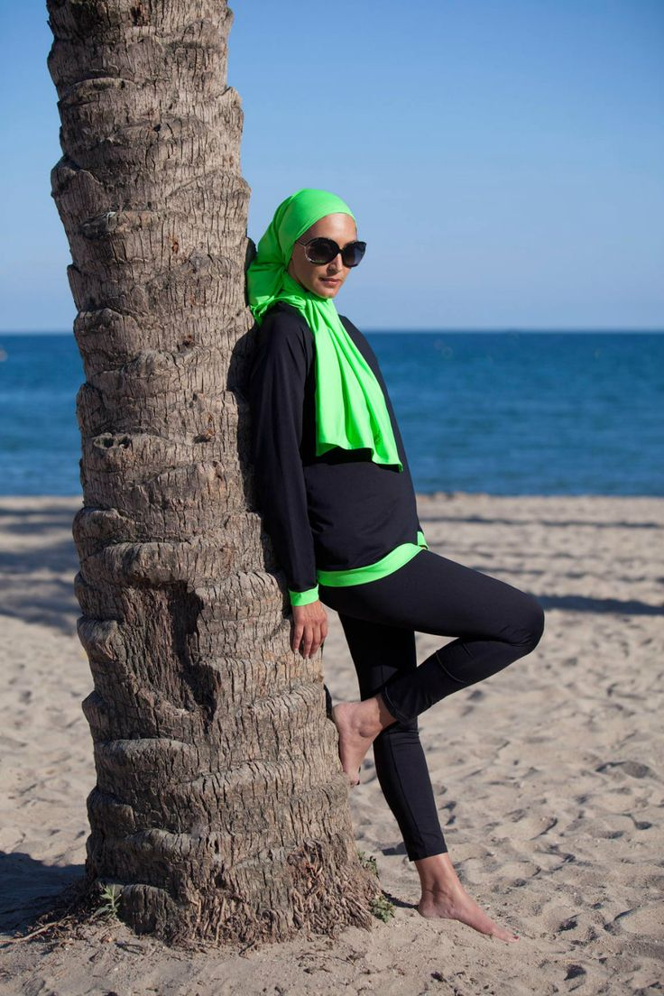 Fabuleux Les 25 meilleures idées de la catégorie Maillot de bain hijab sur  PJ25