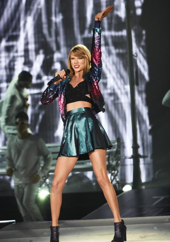 See Taylor Swift's most dazzling 1989 tour looks.
