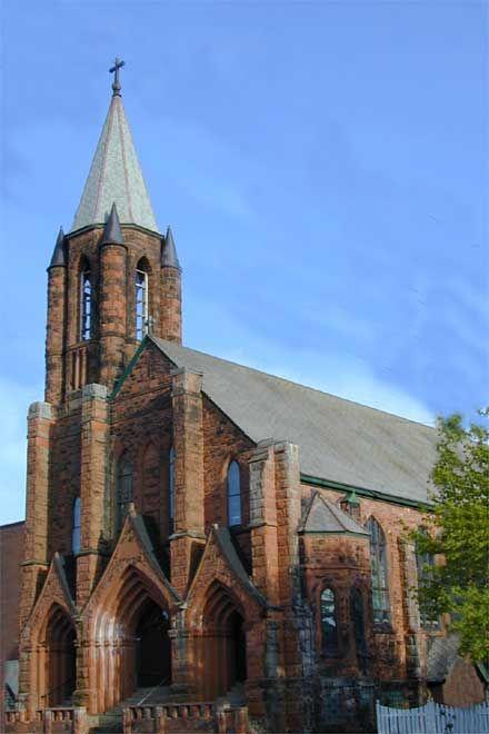 Hecla church wedding