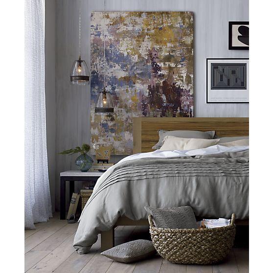 Crate And Barrel Bedroom: Pietra Bed Linens I Crate And Barrel
