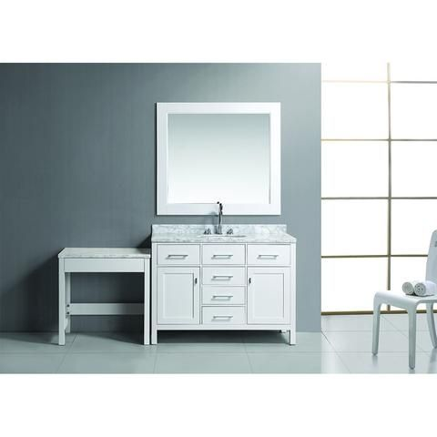 Picture Gallery For Website Design Element London Stanmark Modular Single Vanity Set with Make Up Table Bath Vanity Plus