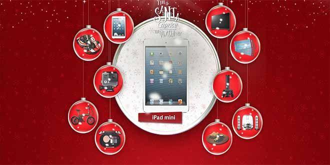 Διαγωνισμός CAPRICE με δώρο ένα Apple iPad Mini μία Τηλεόραση LG LED