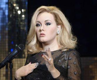 Adele: Απέκτησε κέρινο ομοίωμα
