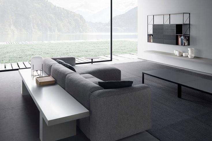 MATE 2012 modular 2 seat sofa. MDF Italia.