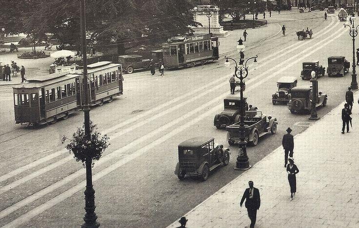 Verona - Piazza Vittorio Emanuele - anni 20