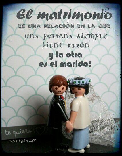 Feliz jueves! Pero como si fuera viernes!!! (incluso sábado para algunos) Así que lo empezaremos con un poco de #humor! ;-) #matrimonio