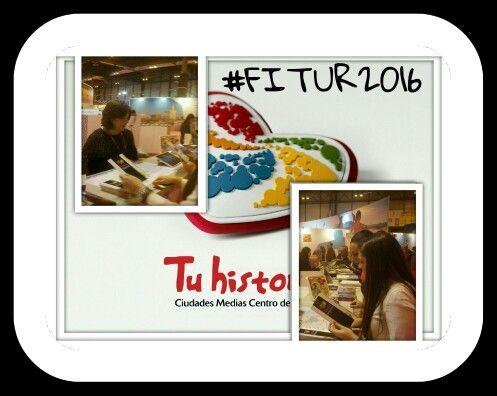 Gracias a todos los profesionales y visitantes que se han interesado por las #experiencias #tuhistoria en el #stand de #Andalucia. Hasta el próximo certamen de FItur. #FITUR2016 #AndaluciaenFitur @viveandalucia @Andalucianetwork