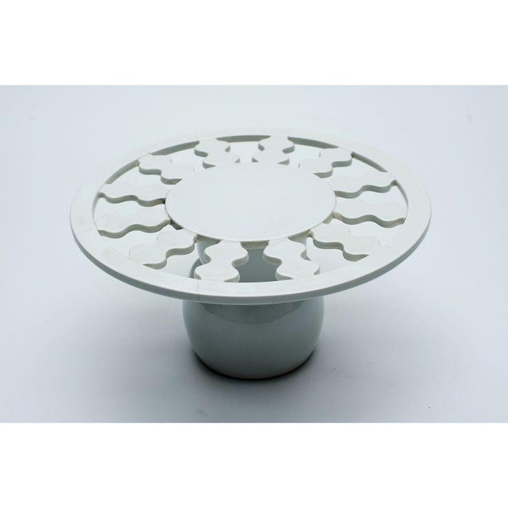 Alzatina in ceramica designer George Sowden produttore Alessio Sarri anni 80 colore bianco