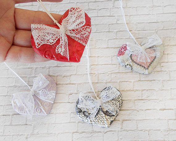 One Year Anniversary - Romantic Decor - Heart Decor - Valentines Day Decor - Romantic Gift - Wedding Decor - Wedding Favors - ArtFlyCreation