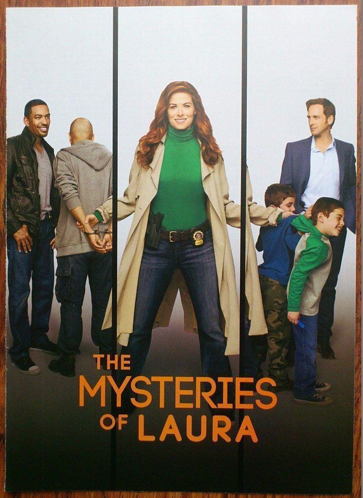 THE MYSTERIES OF LAURA Debra Messing Josh Lucas Laz Alonso Photo/Poster/Clipping | eBay