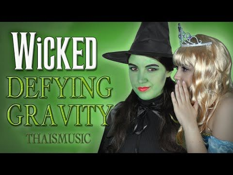 Wicked witch sings