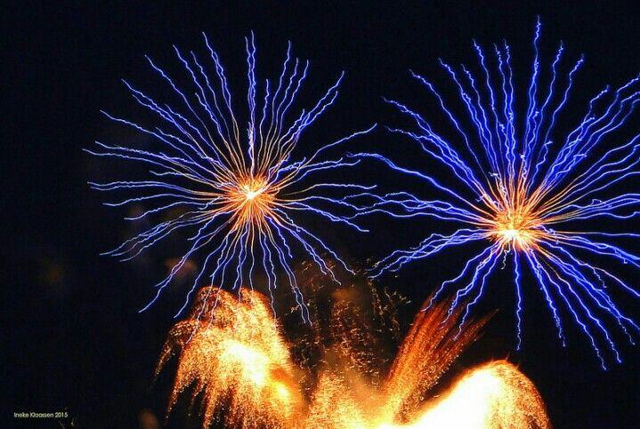 Fireworks. Photographer: Ineke Klaassen.