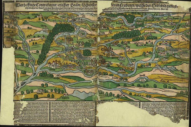 Obojeni drvorez prikazuje bitku kod Siska 22. lipnja 1593. kada je hrvatsko-njemačka vojska pod zapovjedništvom Ruprechta Eggenberga napala oko 10 000 Turaka koji su pod Hasanpašom Predojevićem prešli na lijevu obalu Kupe i opsjedali Sisak. Turci su u dvosatnoj bitci razbijeni, Hasanpaša i većina preživjelih u bijegu se utopila u Kupi. Pobjedom kod Siska zaustavljeno je tursko napredovanje u Hrvatskoj i učinjena prekretnica u gotovo 150-godišnjoj borbi za obranu hrvatskih zemalja.