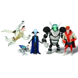 Megamind Movie Exclusive Mini Action Figure Collection 5Pack Tighten, Metro Man, Megamind, Dreambot Minion (Toy)  http://free.best-gasgrill.com/redirector.php?p=B00470E0Y6  B00470E0Y6