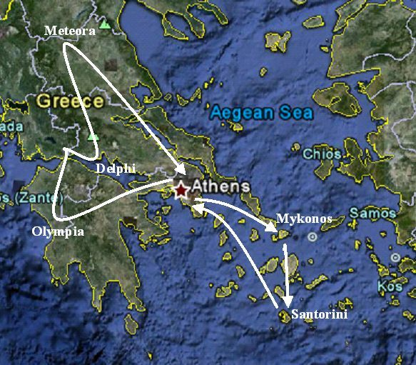 Mediterranean Vacations - Greece vacation packages | greek island hopping | greece tours