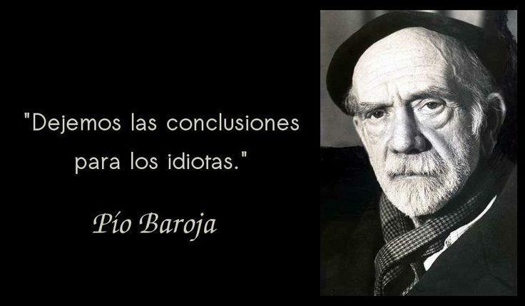 Pío Baroja y Nessi fue un escritor español de la llamada Generación del 98