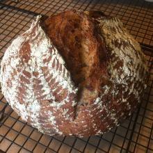 irish malt bread known in ireland as ; veda: